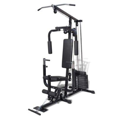 vidaxl - migliore panca e stazione fitness multifunzione per pesi inclusi