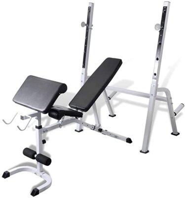 vidaxl - migliore per panca e stazione fitness multifunzione per possibilità di regolazione