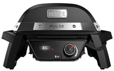 Weber 81010053 Pulse 1000 - Migliore barbecue Weber elettrico da tavolo