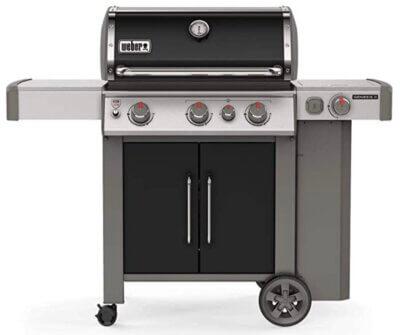 Weber Genesis II EP-335 GBS - Migliore barbecue Weber a gas per bruciatore laterale
