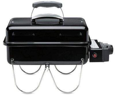 Weber - Migliore barbecue da tavolo professionale per grata di cottura in porcellana smaltata e acciaio