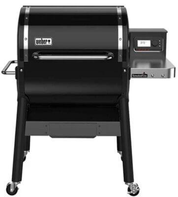 Weber smokfire EX4 - Migliore barbecue Weber a pellet per range di temperatura