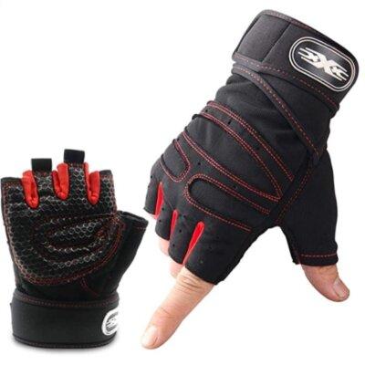 Wesho - Migliori guanti da palestra per superficie antiscivolo