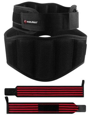 WIN.MAX - Migliore cintura per sollevamento pesi per fibbie in nylon
