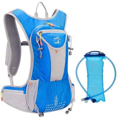 WLZP - Migliore zaino da trail running per l'idratazione con capacità 15 litri