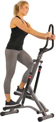 workout a casa con lo stepper fitness