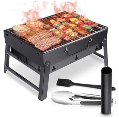 WOSTOO - Migliore barbecue da tavolo economico per accessori inclusi