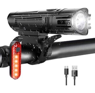 WOTEK - Migliore luce per bici per regolazione su 4 modalità