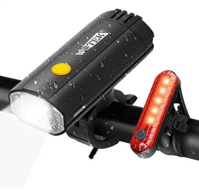 WOTEK - Migliore luce per bici per versatilità di utilizzo