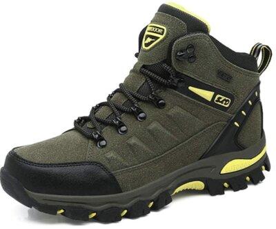 Wowei Unisex - Migliori scarponi da trekking per suola antiscivolo di alta qualità