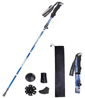 XDSP - Migliori bastoncini da trekking per impugnatura in EVA antisudore