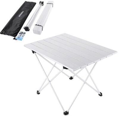 YAHILL - Migliore tavolino pieghevole da campeggio completamente smontabile