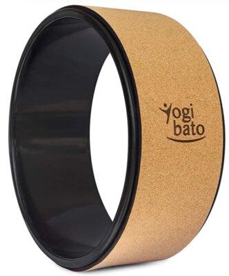 Yogibato - Migliore ruota da yoga per superficie in sughero