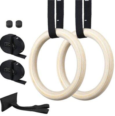 Zacro - Migliori anelli da ginnastica per capacità portante